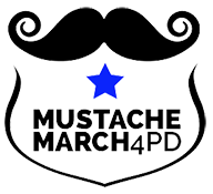 Mustache March Logo
